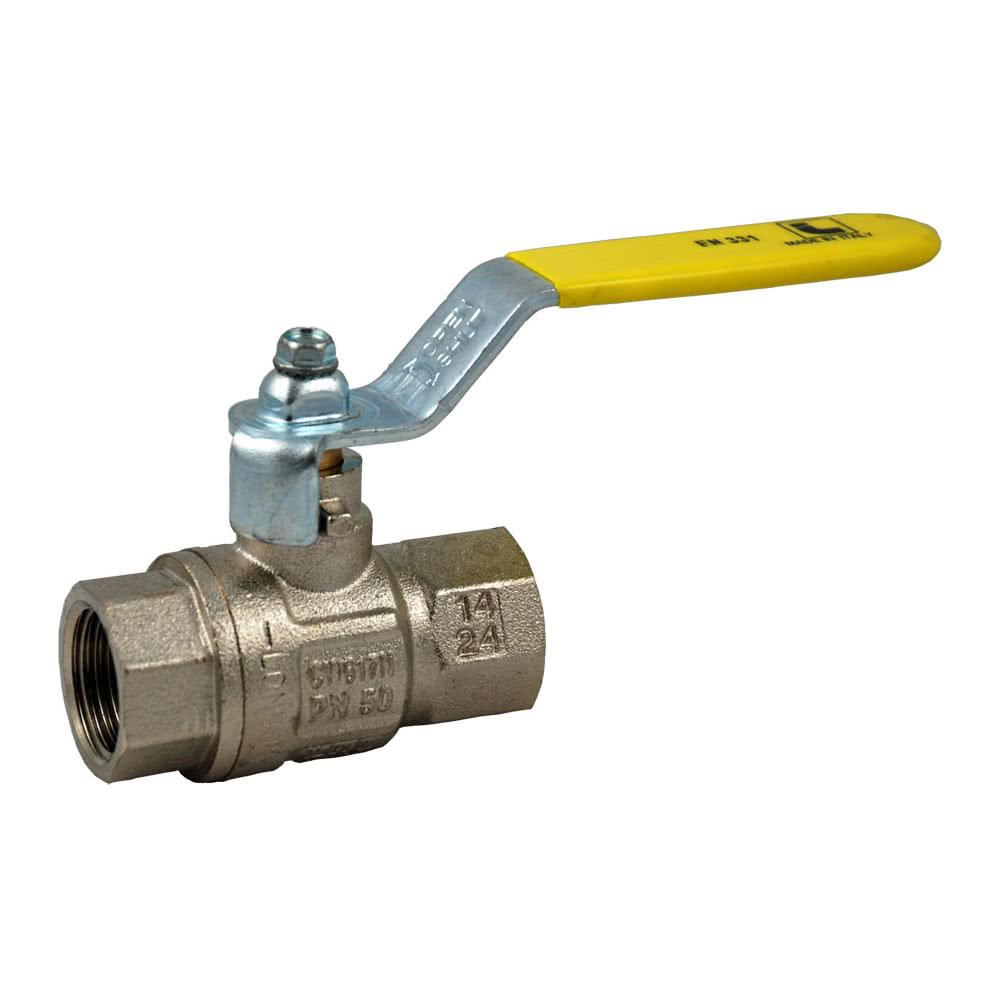 Kugelhähne für brennbare Gase, EN331/DVGW Zulassung